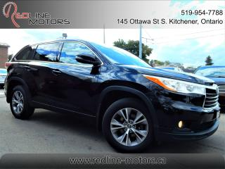 Used 2016 Toyota Highlander Hybrid LE AWD.8Pass.ReverseCam.PowerLiftgate.ExtraClean for sale in Kitchener, ON