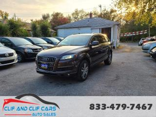 Used 2012 Audi Q7 3.0L TDI Premium Plus for sale in Scarborough, ON
