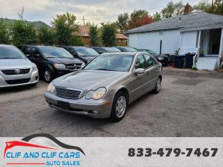 Used 2003 Mercedes-Benz C-Class 2.6L for sale in Scarborough, ON