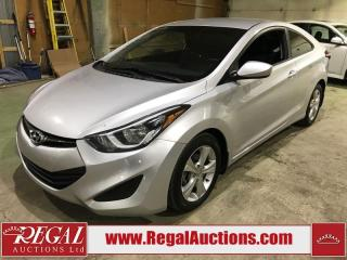 Used 2014 Hyundai Elantra GL 2D COUPE for sale in Calgary, AB