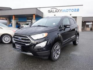 Used 2019 Ford EcoSport TITANIUM-NAV, 4X4, LEATHER for sale in Duncan, BC