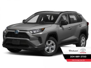 New 2021 Toyota RAV4 LE STANDARD PACKAGE for sale in Winnipeg, MB