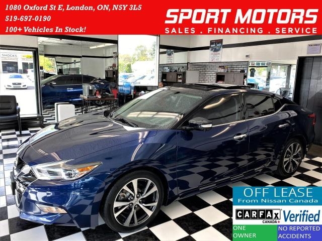 2016 Nissan Maxima Platinum+Service Records Since Day 1+ACCIDENT FREE