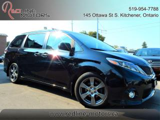 Used 2017 Toyota Sienna SE.Navi.Camera.TV/DVD.BlIndSpot.PowerDoors.8Pass for sale in Kitchener, ON