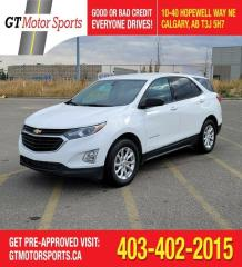 Used 2018 Chevrolet Equinox LS | $0 DOWN - EVERYONE APPROVED! for sale in Calgary, AB