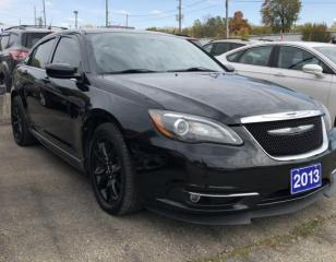 Used 2013 Chrysler 200 S for sale in Brockville, ON