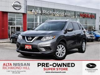Used 2015 Nissan Rogue S AWD   Back-UP CAM   Bluetooth   Cruise Control for sale in Richmond Hill, ON