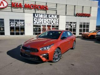 New 2021 Kia Forte GT Limited DCT - Synth Leather, GPS, Smart Cruise for sale in Niagara Falls, ON