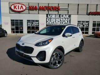 New 2021 Kia Sportage SX Turbo AWD - Smart Cruise, Dual Exhaust for sale in Niagara Falls, ON
