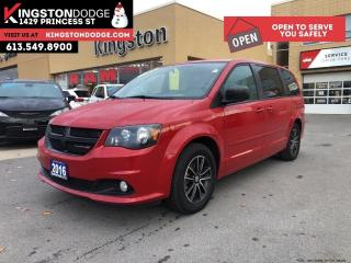 Used 2016 Dodge Grand Caravan SXT Plus   Blacktop PKG   DVD   1-Owner   REV CAM for sale in Kingston, ON