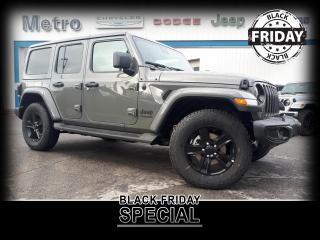 New 2021 Jeep Wrangler Unlimited Unlimited Sahara Altitude for sale in Ottawa, ON
