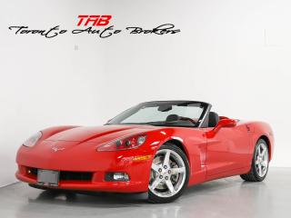 Used 2006 Chevrolet Corvette I CONVERTIBLE I 6-SPEED I BOSE I NAVI I CLEAN CARF for sale in Vaughan, ON