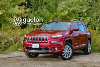 Used 2016 Jeep Cherokee Overland 4x4 | Remote Start, Heated Seats & Wheel for sale in Guelph, ON