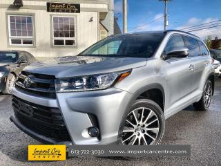 Used 2017 Toyota Highlander XLE SE PACKAGE!!!! LEAHTER  ROOF  NAVI  BLIS for sale in Ottawa, ON