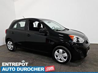 Used 2019 Nissan Micra SV Automatique - AIR CLIMATISÉ - Caméra de Recul for sale in Laval, QC