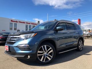 Used 2016 Honda Pilot Touring -  Navi - Leather - Sunroof - Pano Roof for sale in Mississauga, ON