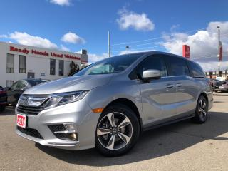 Used 2019 Honda Odyssey EX-L Navi - Leather - Sunroof - Lane Watch Camera for sale in Mississauga, ON