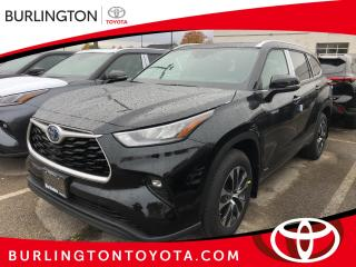 New 2021 Toyota Highlander Hybrid XLE AWD (Natl) for sale in Burlington, ON