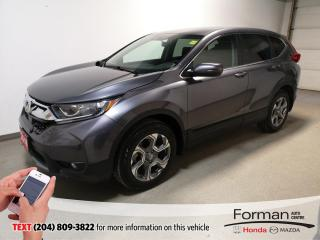 Used 2018 Honda CR-V EX|Certified|Warranty-Just Arrived| for sale in Brandon, MB