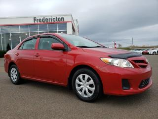 Used 2013 Toyota Corolla CE for sale in Fredericton, NB