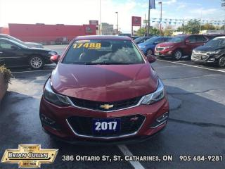 Used 2017 Chevrolet Cruze Premier for sale in St Catharines, ON