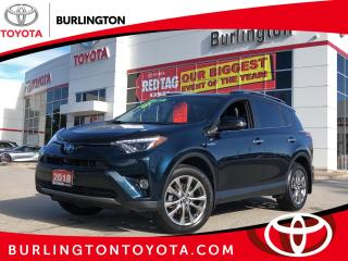 Used 2018 Toyota RAV4 Hybrid Limited for sale in Burlington, ON