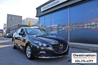 Used 2015 Mazda MAZDA3 GX - With 6 speed manual transmission! for sale in Vancouver, BC