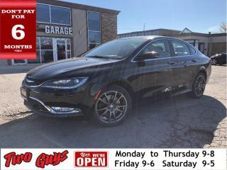 Used 2015 Chrysler 200 C AWD | New Tires | Nav | Leather | Sunroof | for sale in St Catharines, ON
