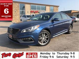Used 2016 Hyundai Sonata Sport 2.0T | Nav | Panoroof | Leather | for sale in St Catharines, ON