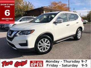Used 2017 Nissan Rogue S | Htd Seats | B/Up Cam | Bluetooth | Good Tires for sale in St Catharines, ON