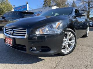 Used 2014 Nissan Maxima 4dr Sdn CVT 3.5 SV BACKUPCAM ACCIDENT FREE HEATEDSEATS for sale in Brampton, ON