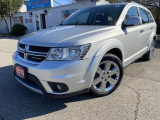 Used 2013 Dodge Journey AWD 4dr R/T* 7 PASSENGER|DVD|SUNROOF|LEATHER for sale in Brampton, ON