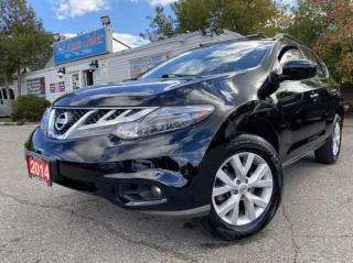 Used 2014 Nissan Murano AWD 4dr SL *NO ACCIDENTS, BACKUPCAM,PANO ROOF for sale in Brampton, ON