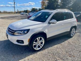 Used 2012 Volkswagen Tiguan Highline, 4Motion, factory navigation, 1 owner, no accidents for sale in Halton Hills, ON