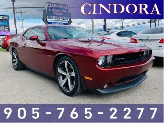 Used 2014 Dodge Challenger R/T, 100th An. Edition, Loaded for sale in Caledonia, ON