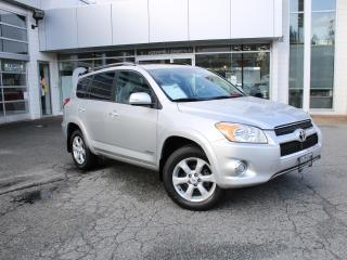 Used 2012 Toyota RAV4 Limited 4WD One Owner No Accident for sale in Surrey, BC