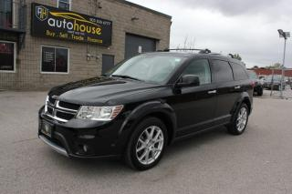 Used 2015 Dodge Journey NAVI ,7 PASS ,AWD ,R/T ,DVD ,LEATHER SEATS ,BACKUP CAMERA for sale in Newmarket, ON