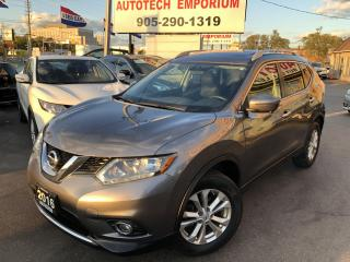 Used 2016 Nissan Rogue SV w/TECHNOLOGY Navigation/360 Camera/Sunroof/H.Seats for sale in Mississauga, ON