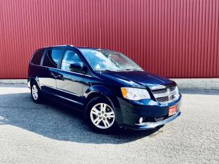 Used 2015 Dodge Grand Caravan Crew, LEATHER, NAVI, B-CAM, SUNROOF, DUEL DVD, PWR SLIDING DOORS! for sale in Scarborough, ON