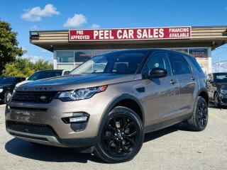 Used 2017 Land Rover Discovery Sport HSE SPORT|TEXT.US.|647.678.7778 NAVI|MOONROOF|LEATHER|360DEGREEVIEW| HEADSUP DISPLAY|CLEANCARFAX| for sale in Mississauga, ON