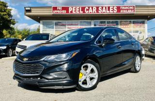 Used 2018 Chevrolet Cruze Premier|TEXT.US|647.678.7778| LEATHER|ONSTARNAVI|REARVIEW| for sale in Mississauga, ON