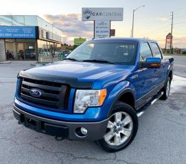 Used 2010 Ford F-150 FX4 | 4X4 | LEATHER | LUXURY PACKAGE | for sale in Barrie, ON