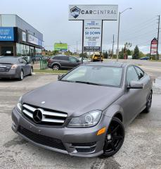 Used 2013 Mercedes-Benz C-Class C350 Coupe 4MATIC | NO ACCIDENTS | NAVI | PANO ROOF | for sale in Barrie, ON