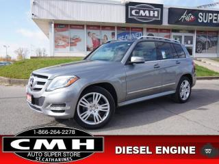 Used 2015 Mercedes-Benz GLK-Class GLK 250 BlueTEC 4MATIC  NAV CAM PANO for sale in St. Catharines, ON