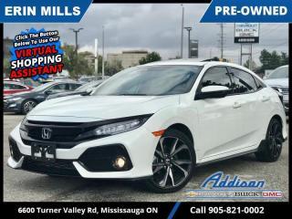 Used 2018 Honda Civic Hatchback Hatchback Sport Touring HS 6MT  NAVI|SUNROOF|K&N INTAKE| for sale in Mississauga, ON