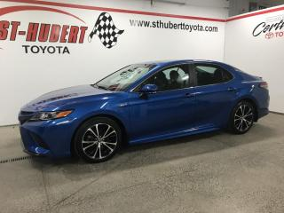 Used 2018 Toyota Camry Hybrid SE Auto for sale in St-Hubert, QC