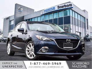 Used 2015 Mazda MAZDA3 GT\AUTO\LEATHER\BACK UP CAMERA\NAVIGATION for sale in Scarborough, ON