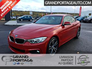 Used 2015 BMW 4 Series 435i xDrive Cabriolet *M Package* for sale in Rivière-Du-Loup, QC