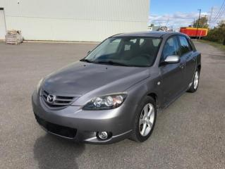 Used 2005 Mazda MAZDA3 Familiale sport à 5 portes Sport GS, boî for sale in Québec, QC