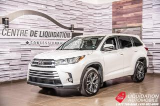 Used 2017 Toyota Highlander LE+AWD+CAM/RECUL+GR/ELECT+BLUETOOTH+SIEGE /CHAUFF for sale in Laval, QC